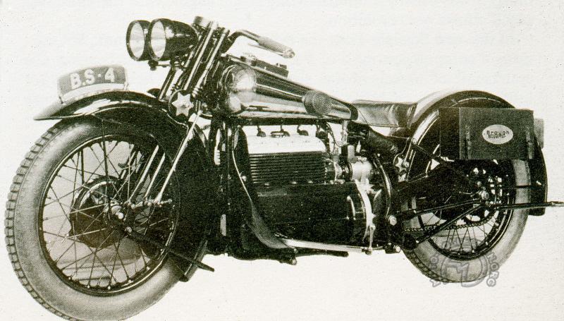 Brough Superior 900 L4  MAG Le Vack 1928-dm8
