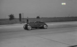 Et toujours le Comte Lurano lors de ses records de 1939 (courtoisie Revs Institute for Automotive Research)