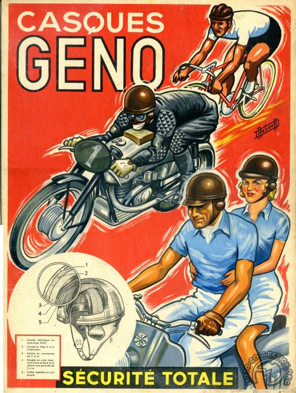 Un peu plus sérieux, mais pas trop les premiers Geno avaient l'indéniable avantage d'une publicité illustrée par le talentueux Daniel Rebour.