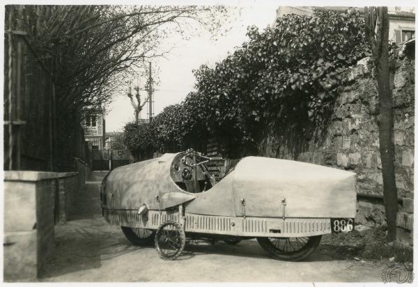 Cerreti 1929 : le Motocar de l'avenir