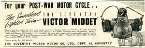 Coventry Victor espérait beaucoup de ce moteur présenté dans l'immédiat après-guerre.