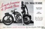 DS Malterre 125 et 175 à moteur AMC culbuté 1952 environ