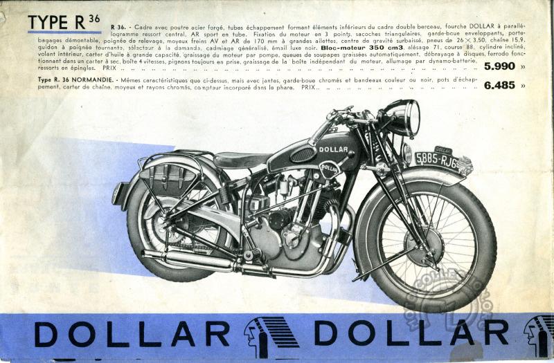 Dollar 350 R36 - 1936