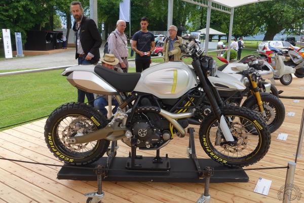 Ducati 800 Desert Sled : parfaite mais irréelle.