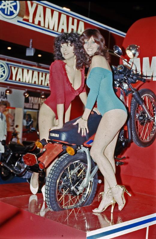 La Yamaha 125 DT/MX côté pile …