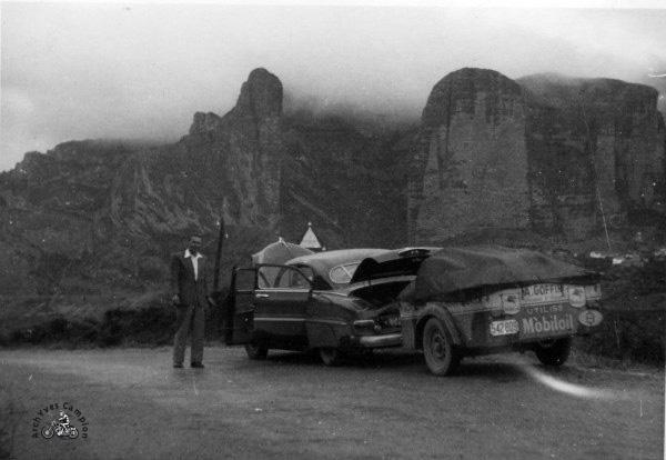 Toujours en route vers Anfa en Espagne, le 20 octobre 1952