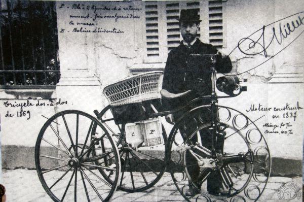 Félix Millet tricycle