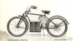 La réalisation en 1932 de ce vélo électrique est superbe. Ll'idée avait 80 ans d'avance et ce prototype témoigne de la volonté d'innover de la marque.
