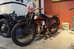 Une Favor 250 E de 1926 exposée au musée Auto, moto, vélo de Châtellerault.