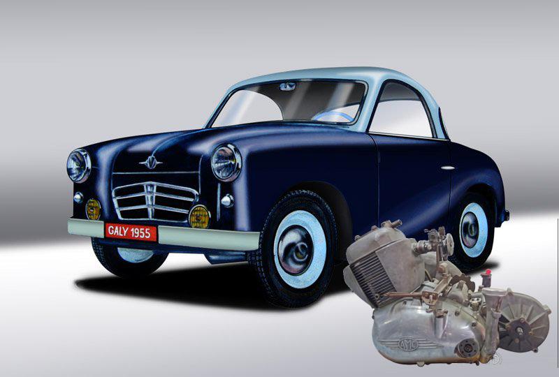AMC 1955 du 250 au 280 cm3
