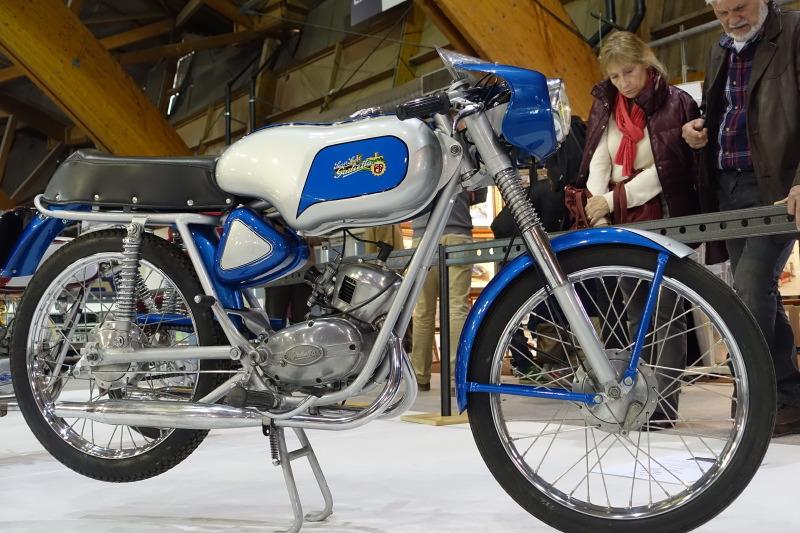 Giulietta GSS Super Sport de 1963, l'un des grands succès du cyclo sport en France.