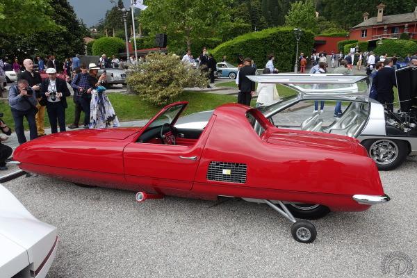 Gyro-X 1300 – 1967 : La voiture à deux roues
