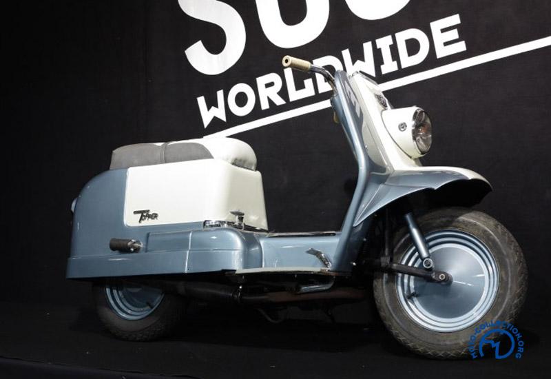La Harley-Davidson Topper de 1962 : pas vraiment l'élégance italienne…
