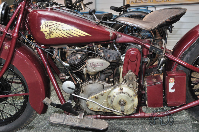 Indian 750 Scout type 101-1931-1