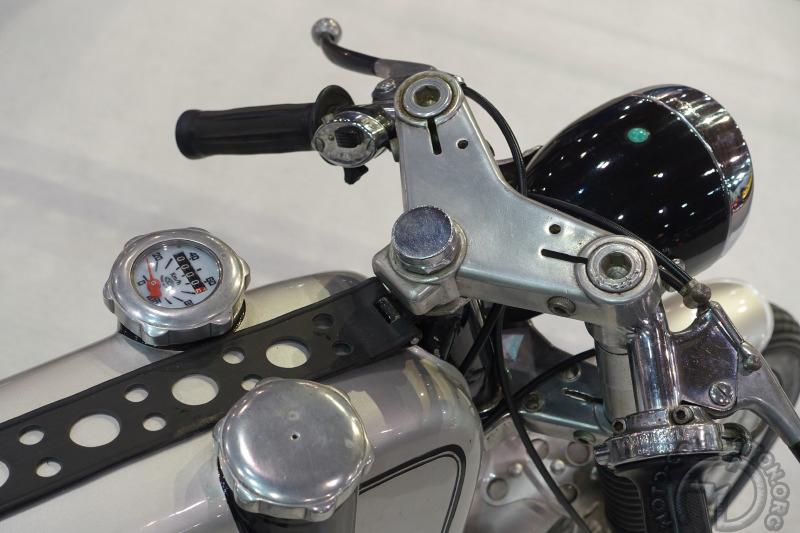Italjet Mustang, l'un des plus célèbres 50 cm3 créé par Leopoldo Tartarini