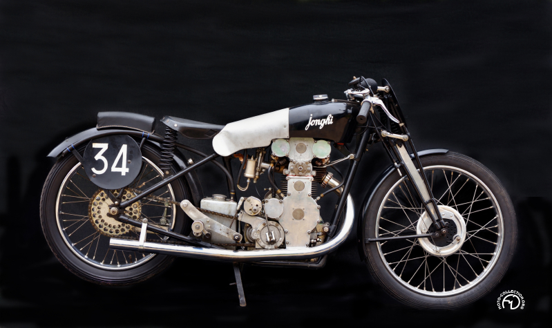 Collection Moto Jonghi 350 double ACT 1934-38