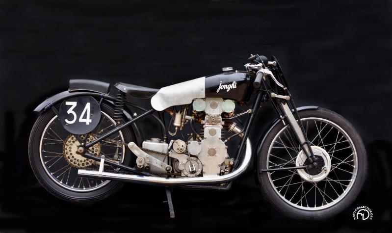 Collection Moto Jonghi 350 double ACT 1934-38