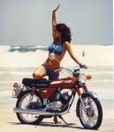 Kawasaki KH 100 : la plus longue productiion de la marque de 1972 à 1990