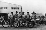 Kawasaki pensait déjà à une 450 ou 500 quatre temps en 1973, mais il attendit 10 ans pour passer à l'acte