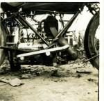 La version standard utilisée par Sexé en 1921 était affublée d'une énorme sortie d'échappement prolongée par un silencieux transversal devant le moteur.