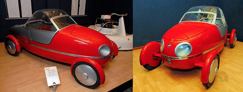 2-Quel amateur de microcar ne rêverait pas d'une petite vetturetta MV Agusta, a fortiori si elle est l'œuvre de Pietro Remor, le père des premières quatre cylindres.
