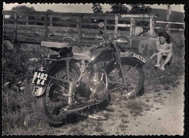 Motobécane 175 Z2C début des années 50