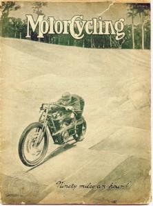 Le numéro du 15 novembre 1909 de Motorcycling