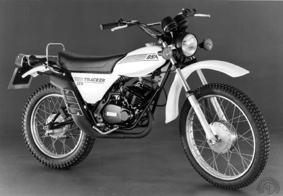 Version 1979 de la 125 Tracker à moteur Yamaha développée par NVT.
