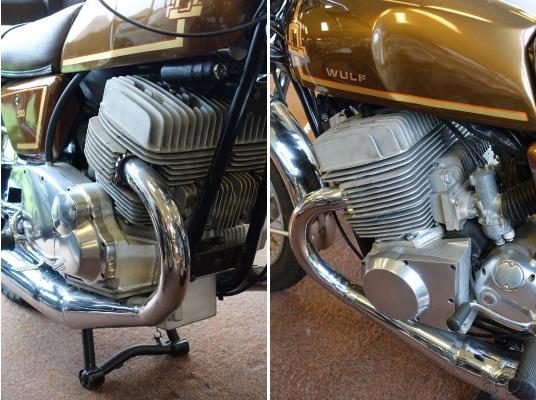 Quelle drôle d'idée de reprendre en 1975  un concept fumeux de pistons à deux étages né dans les années 20.