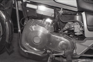 Grace au volumineux ailetage de son moteur la Norton Rotary n'avait pas une esthétique trop inhabituelle.