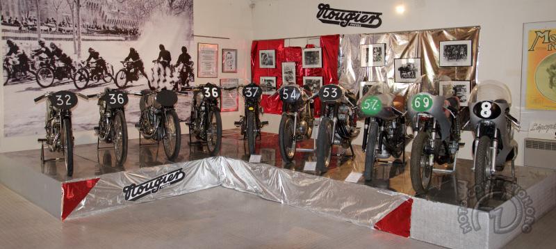 L'exposition permanente des motos Nougier au musée de Marseille