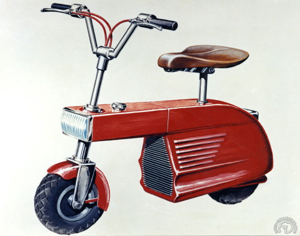A la suite du Valmobile Victor Bouffort conçut le OLD dont voici le prototype de 1960