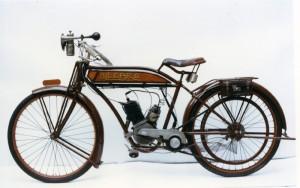 La 175 Ollearo de 1932, ancêtre de tous les cyclos sport italiens.