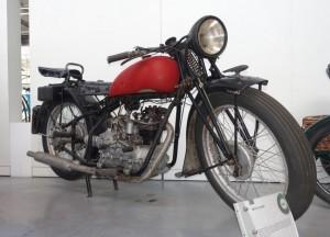 Une rarissime 175 Ollearo « conservée » au musée de Chatellerault dans un état désatreux.