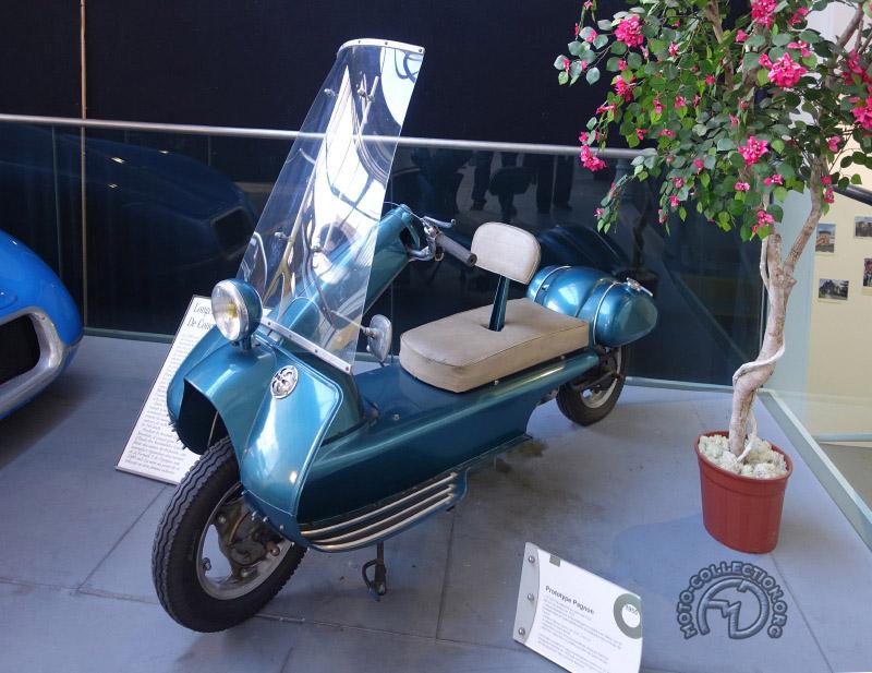 Pagnon 125 Ultima 2t 1955-60
