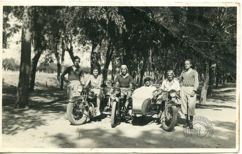 À Thebes en Grèce vers 1935
