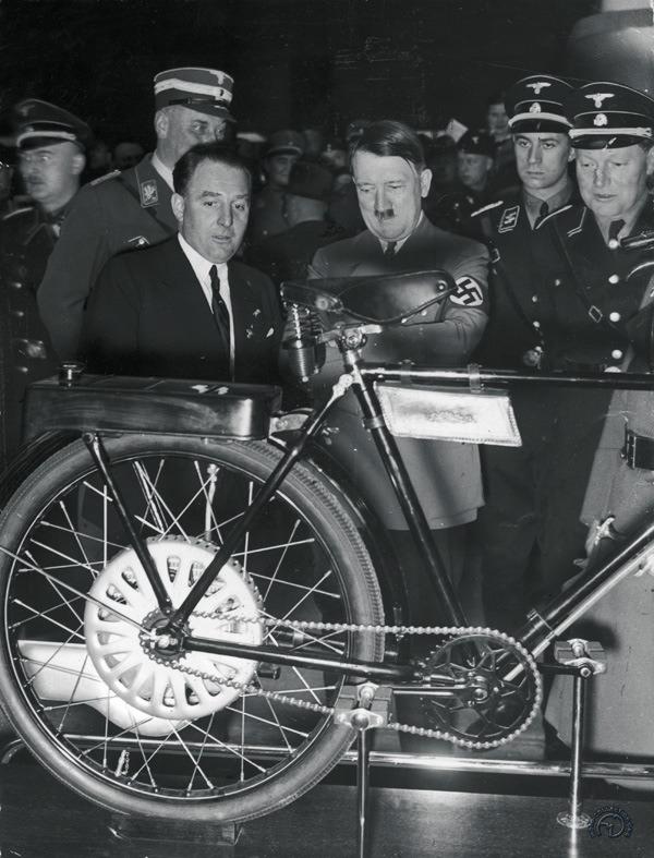 Admirée par Hitler au salon de Berlin de 1937.