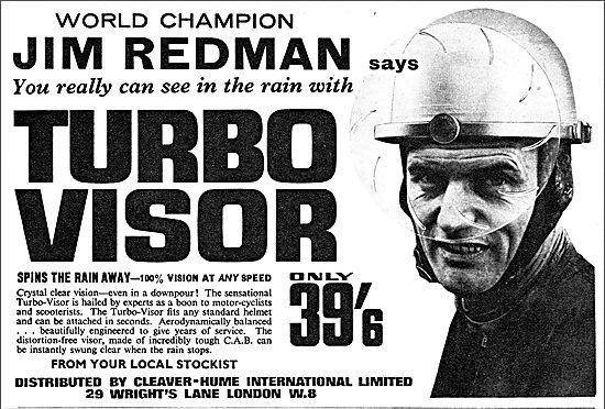 …d'ailleurs c'est le champion du monde Jim Redman qui vous l'affirme, bien qu'on se souviens pas l'avoir vu en course avec cet appareil.