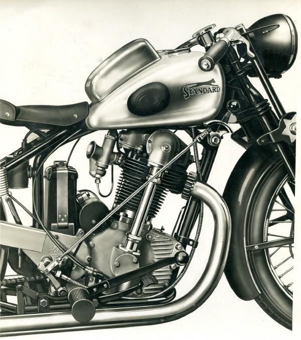 Motos Standard : le simple ACT né du protectionnisme Standard-350-act-1933-028