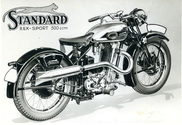 Collection Moto  Motos Standard : le simple ACT né du protectionnisme
