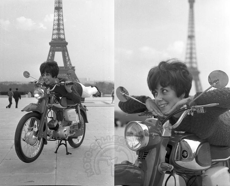 très similaire au 55 cc apparu au Japon en 1961