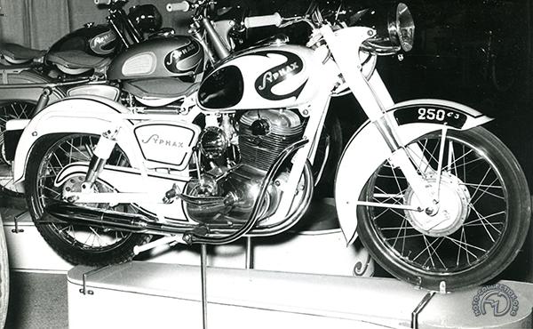 Collection Moto AMC 250 – 1952-56 : L'espoir déçu