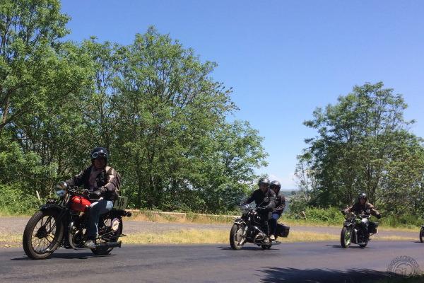 Collection Moto Tour d'Auvergne 2019 : coup de chaud pour les ancêtres