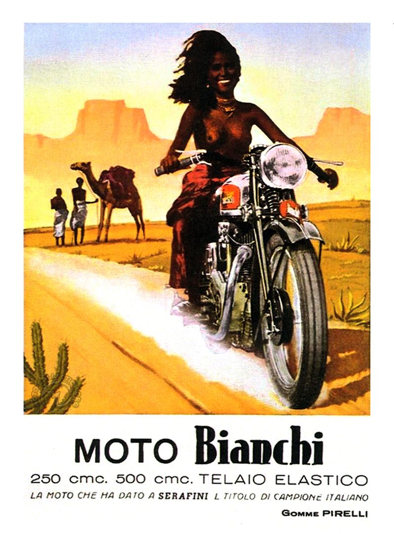 Publicité Bianchi 1933