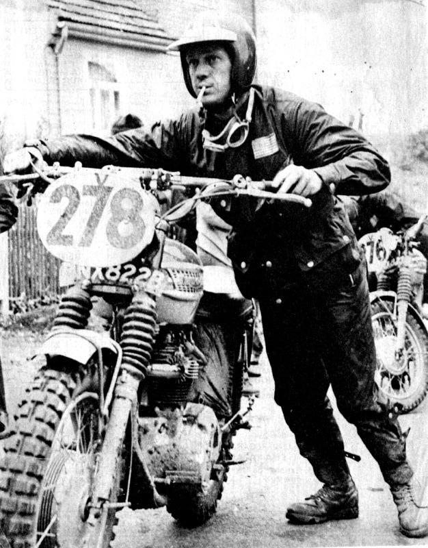 Triumph Trophy Steve McQueen
