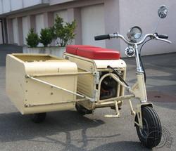 Que manque-t-il à un scooter pliable si ce n'est un side-car tout aussi rétractile !
