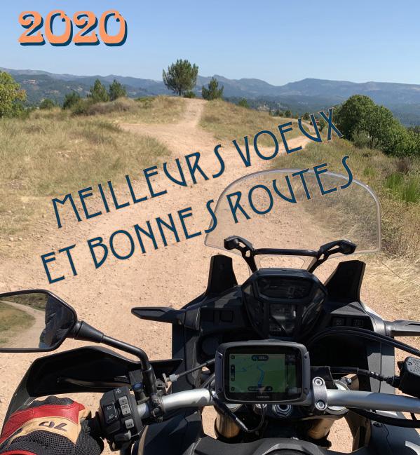 Collection Moto  Tous mes voeux pour 2020