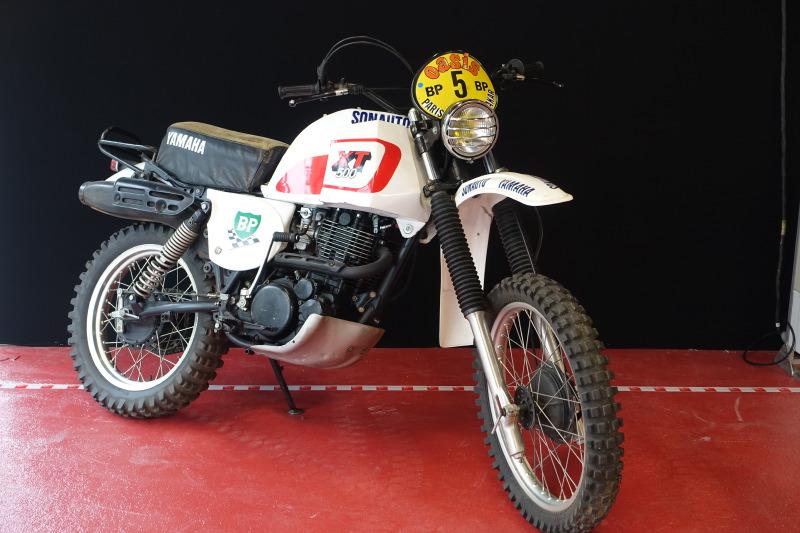 Yamaha 500 XT du Paris-Dakar 1980