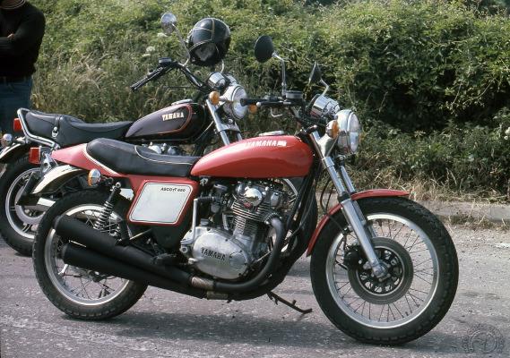 Le prototype 650 XS Ascot développé par Bob Trigg en 1976 reprend ici du service en 1984.