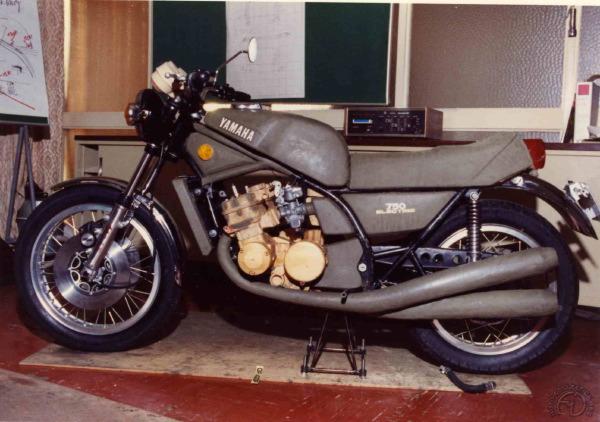 Yamaha GL 750-1971: la TZ 750 de route a failli exister
